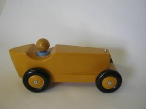raceauto geel